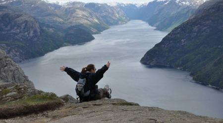 Stavanger e il Peikestolen... la scalata al famoso pulpito!